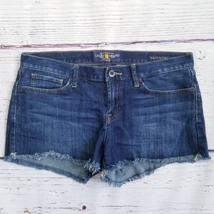 Lucky Brand The Riley Short Dark Wash Cutoffs